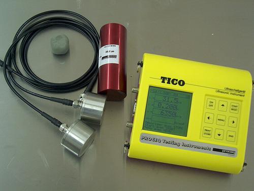 La prova ultrasonica sul cemento armato