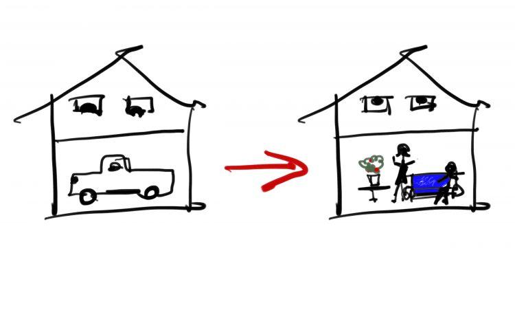Allaccio ad impianti comuni e cambio di destinazione d'uso in un condominio