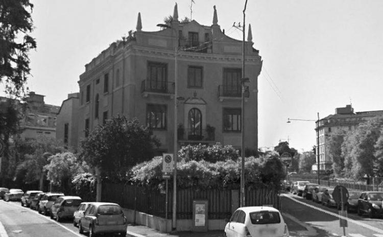 La casa Ponti in Via Randaccio 9 a Milano