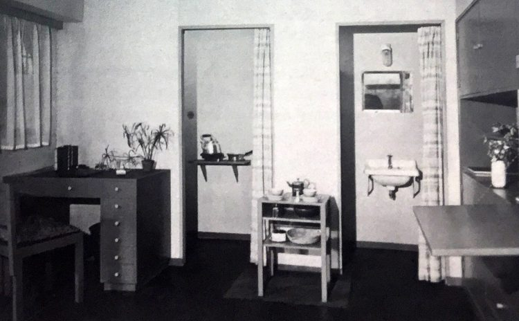 I mobili per l'edilizia sociale nel periodo tra le due guerre mondiali