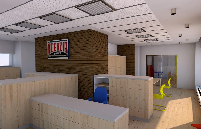 Nuovi uffici AXA assicurazioni in Galleria Irti a L'Aquila