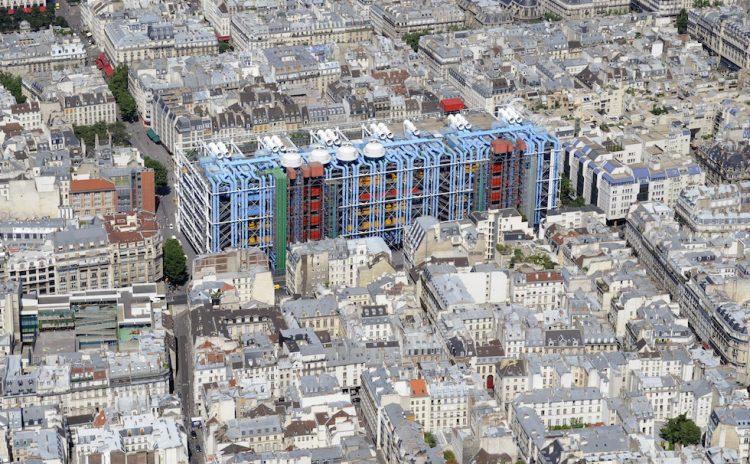 CATTEDRALI DELL'ARCHITETTURA (1) – Il Centro nazionale d'arte e di cultura Georges Pompidou