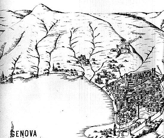 Le matrici del tessuto e del tipo edilizio medievale a Genova – Via della Maddalena
