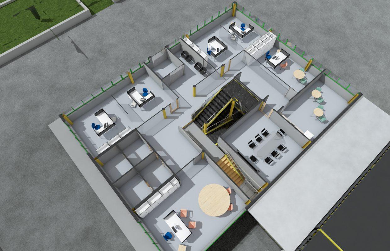 Ristrutturazione di fabbricato industriale – Bazzano – L'Aquila (AQ)