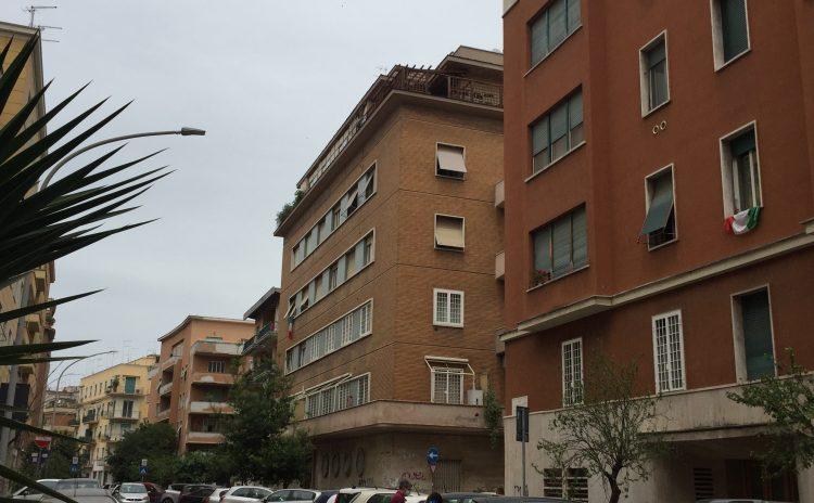 La palazzina in Via Giovanni da Procida N.7 a Roma di Ugo Luccichenti