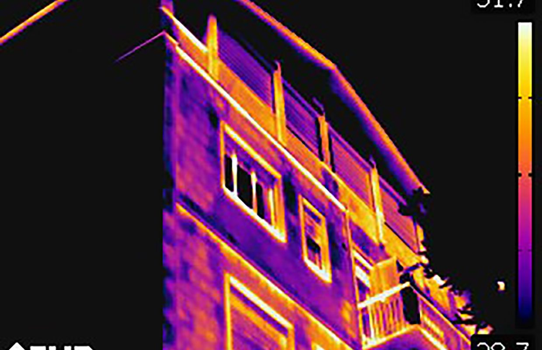 Analisi termografiche di fabbricati