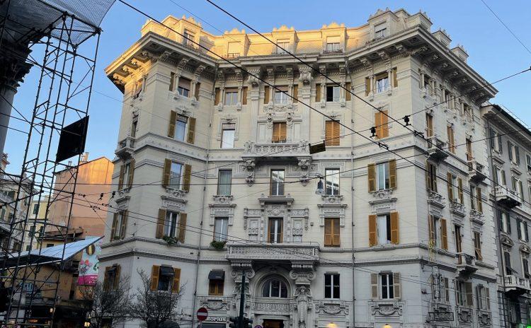 Lo stile Coppedè – Il Palazzo Zuccarino-Cerruti in Via XX Settembre 23 a Genova